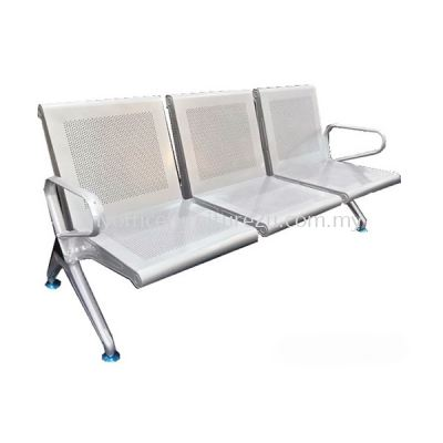 LC013- Link Chair Three Seater with Armrest