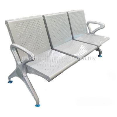 LC012 Link Chair Three Seater with Armrest