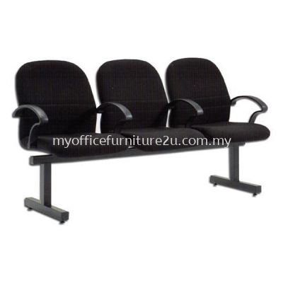 LC603A Link Chair Three Seater with Armrest Fabric