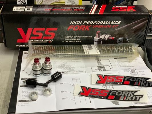 YSS -  Fork Upgrade Kit - Yamaha Y15ZR