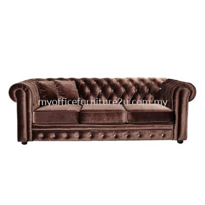 IS2033A Three Seater Sofa (Pu Leather)