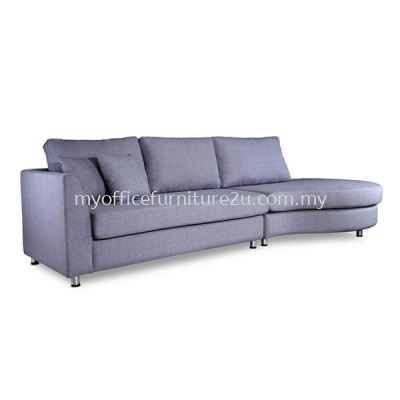 IS1107L Two Seater L Shape Sofa (Fabric)