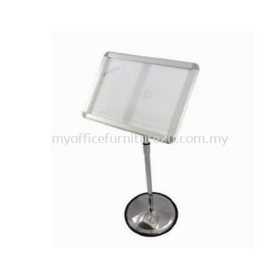 A3 STAINLESS STEEL SIGNBOARD STAND SINGLE FACE