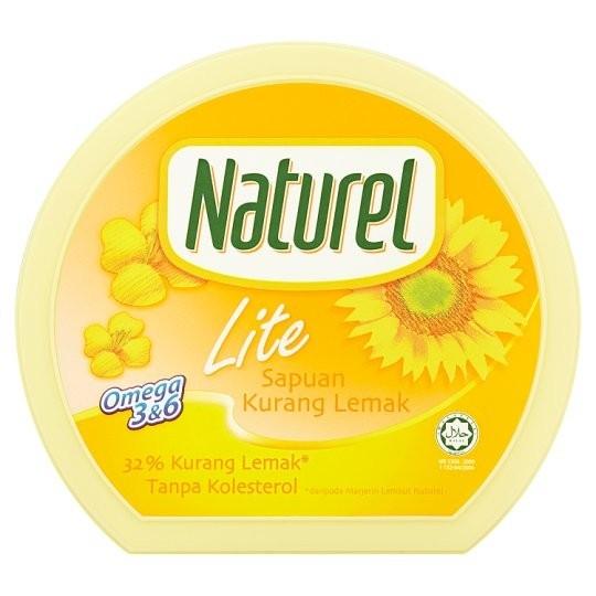 Naturel Reduced Fat Lite Spread - Sapuan Kurang Lemak (250 gm)