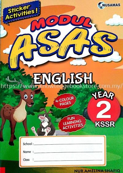MODUL ASAS ENGLISH YEAR 2