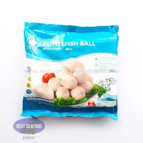 Cuttlefish Ball (Kenko) / 墨鱼丸 / Bebola Sotong (sold per pack)