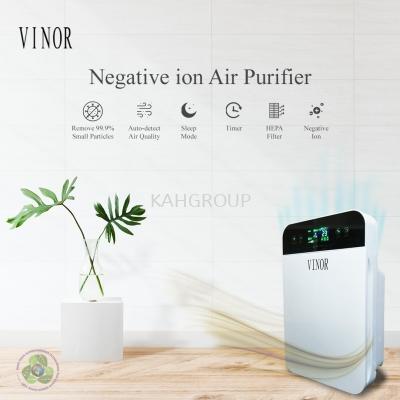 VINOR Negative Ion kill 99.9 bacteria Air Purifier