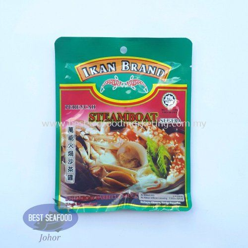 Steamboat Barbecue Sauce Ikan Brand / 万能火锅沙茶酱 (sold per pack)