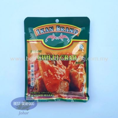 Instant Chilli Crab Sauce Ikan Brand / 辣椒螃蟹酱 (sold per pack)