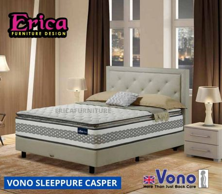 Vono SleepPure Casper Mattress 15 YEAR WARRANTY
