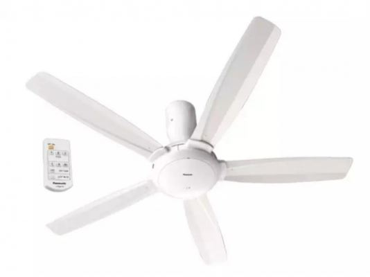 Ceiling Fan with Remote Control (White)