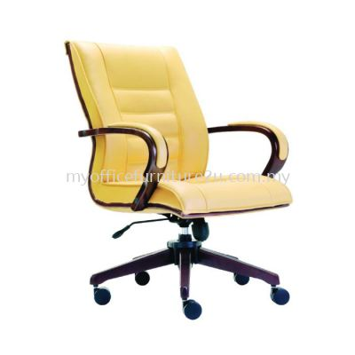 M2152H Baas Executive Chair Pu Leather