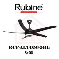 RUBINE Ceiling Fan RCF-ALTO56-5BL