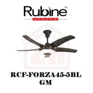 RUBINE Ceiling Fan RCF-FORZA45-5BL