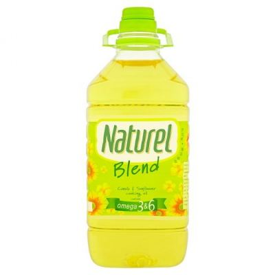 Naturel Blend Omega 3 & 6 Canola & Sunflower Cooking Oil (3 kg)