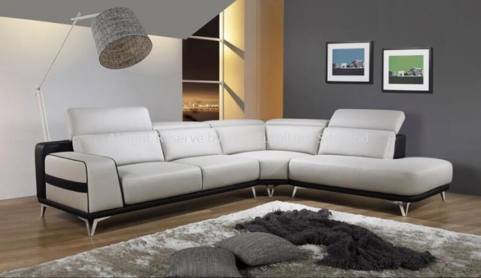 3096CR Hypnos H-Leather Corner Sofa Set