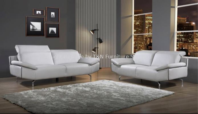 3099 Vedori H-Leather (3+2) Sofa Set