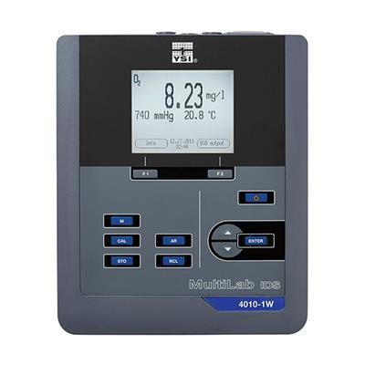 YSI MultiLab 4010P-1W Single Channel Benchtop Multiparameter Instrument with Integrated Printer