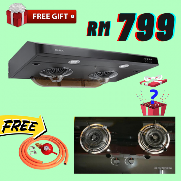 Hood and Gas Cooker Set Good Quality