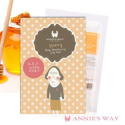 Annie's Way Honey + Lecithin Deep Moisturizing Jelly Mask 40ml