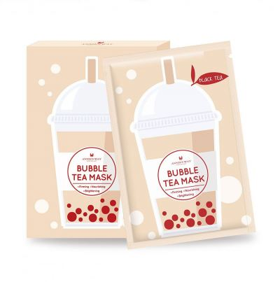 Annie's Way Black Tea Bubble Tea Mask