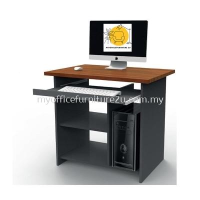 CT68 Computer Table 750W x 600D x 750H mm (Cherry+Dark Grey)