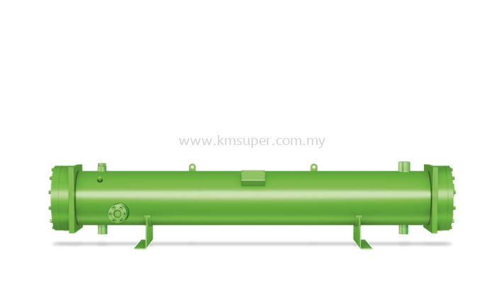BITZER WATER COOLED SHELL AND TUBE CONDENSERS - SEA WATER APPLICATIONS