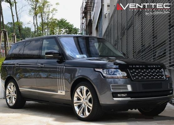 RANGE ROVER VOGUE (L405) 13Y-ABOVE (LONG WHEEL BASE) = VENTTEC DOOR VISOR