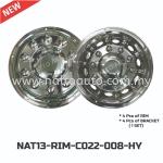 BUS RIM COVER HY-022-008 C-W NUT 22.5inch