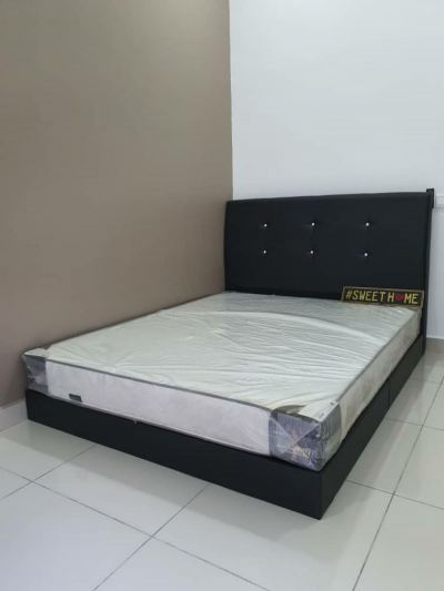 bed and bedframe delivered to customer house