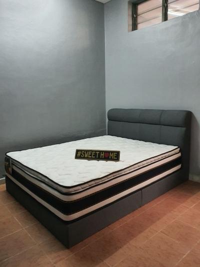 Bed and bedframe tilam dan katil set deliver in penang pulau pinang