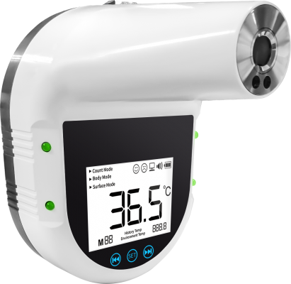 GP500 PRO Hand Free  Wall Mounting Thermometer