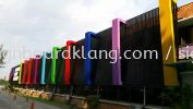 Ultimate Print Sdn Bhd  giant big 3d aluminium box up LED conceal lettering sigange signboard and light box project at shah alam  ALUMINIUM BIG 3D BOX UP LETTERING SIGNAGE