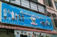Min foong enterprise 3D led channel box up lettering signage signboard at semenyih selangor