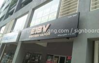 E18V 3D led conceal box up lettering signage signboard at shah alam