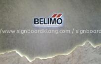 BeliMo Eg 3D led box up lettering backlit signage at jalan kapar klang