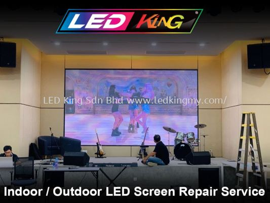 Indoor/Outdoor LED Screen Repair Service