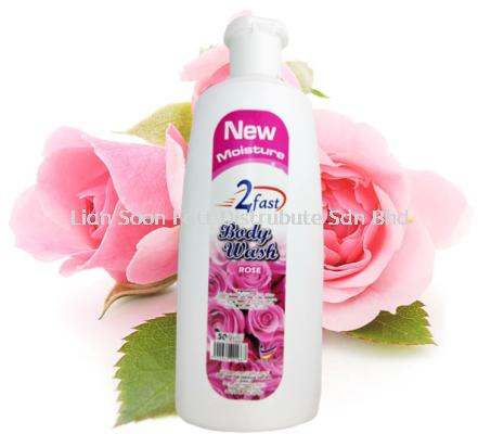 500ml Rose Body Wash - 2 Fast