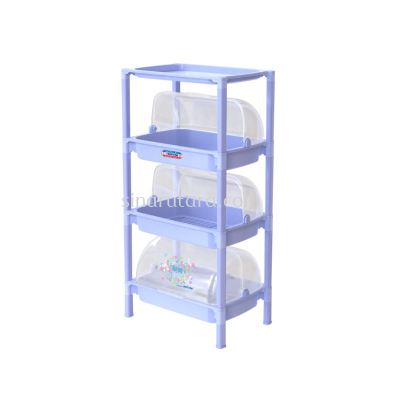 DT0379/3 3 TIER SMALL COVER SHEL