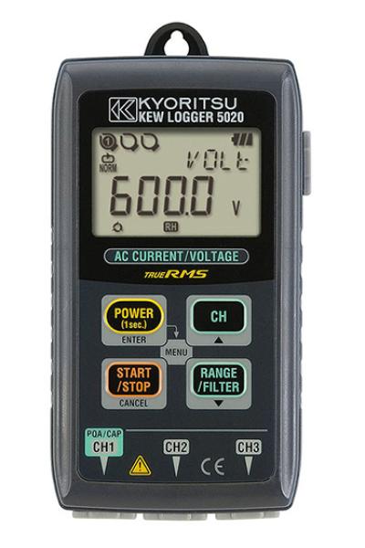 KYORITSU KEW 5020 Loggers