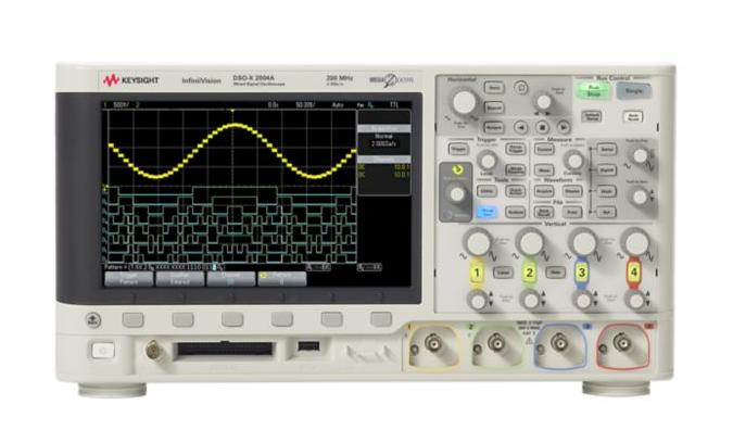 KEYSIGHT DSOX2004A Oscilloscope : 70MHz, 4 Analog Channels