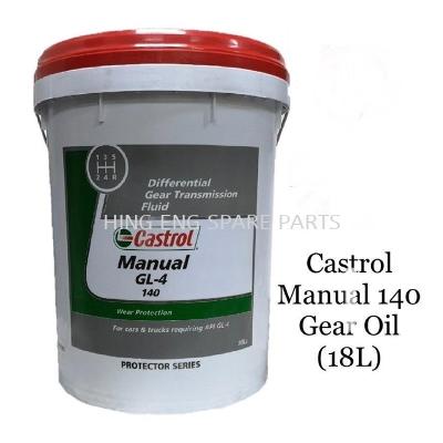 Castrol Manual (GL-4) 140 Gear Oil (18L)