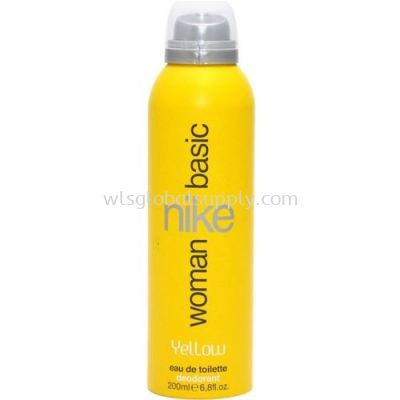 Nike Basic Deo Spray Woman 200ml (Yellow)