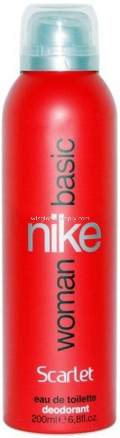 Nike Basic Deo Spray Woman 200ml (Scarlet)