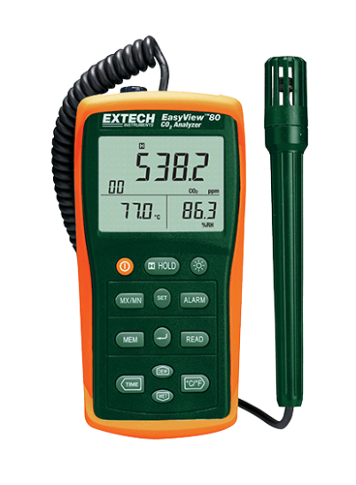 EXTECH EA80 : EasyView Indoor Air Quality Meter/Datalogger