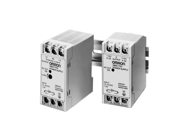 Omron S82S Miniature DIN Rail Mounting DC-DC Power Supplies