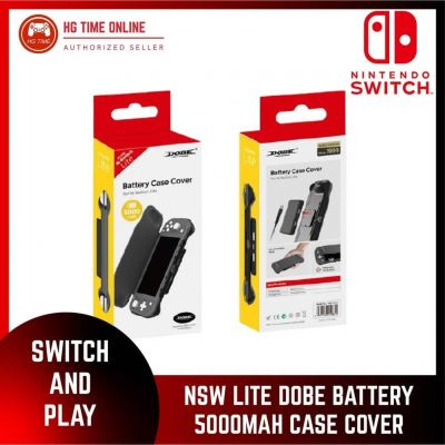 Nintendo Switch Lite DOBE BATTERY 5000MAH CASE COVER