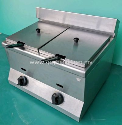 Stainless Steel Deep Fryer (Gas, tabletop) ������ú���׸�ը¯
