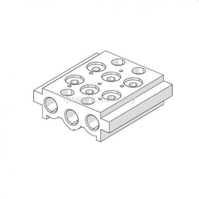 ACCESSORIES FOR SERIES 70-- MULTIPLE BASE 70 PNV-SOV 1/8''