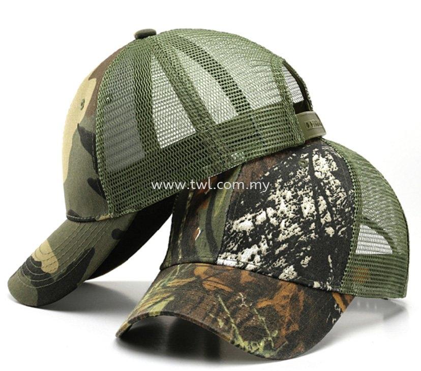 Trucker Camouflage Cap (CP033)